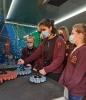 Profesinio orientavimo edukacijos mobilioje STEAM mokslų laboratorijoje